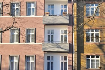 Apartments in the sanitized house Prenzl