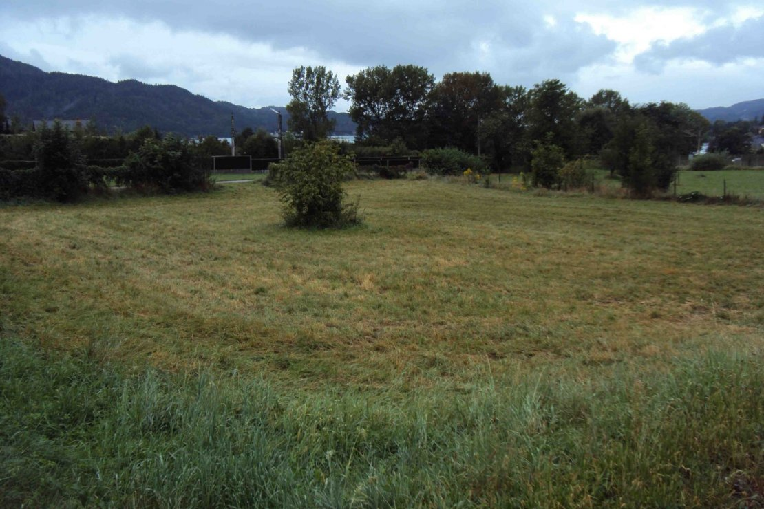 Plot of land located on lake Wörthersee, just 300 meters from the lake!