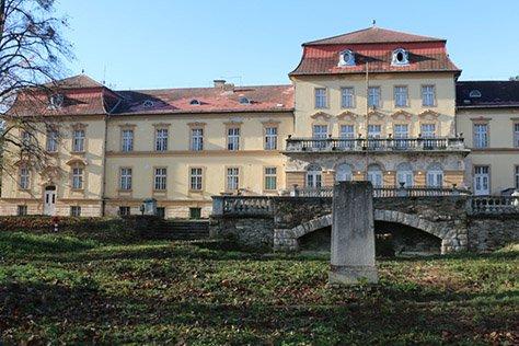 Замок в Венгрии