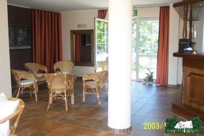 Hotel in the Lusatian lakes area