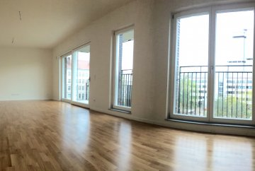 3 rooms newly built apartment with two b
