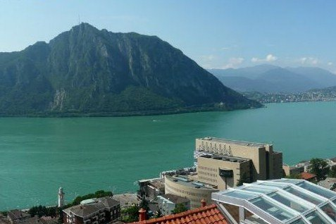 Building land in CAMPIONE on lake Lugano