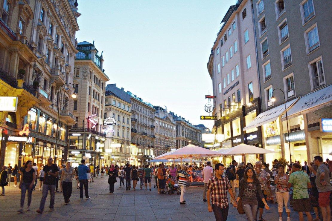 Restaurant in the heart of Vienna