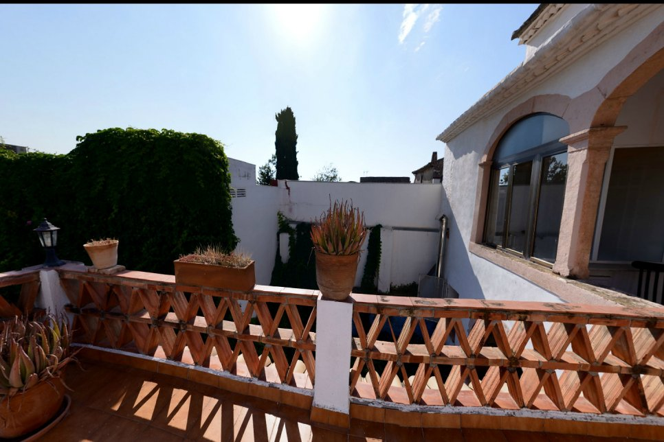 Villa five minutes from the beach