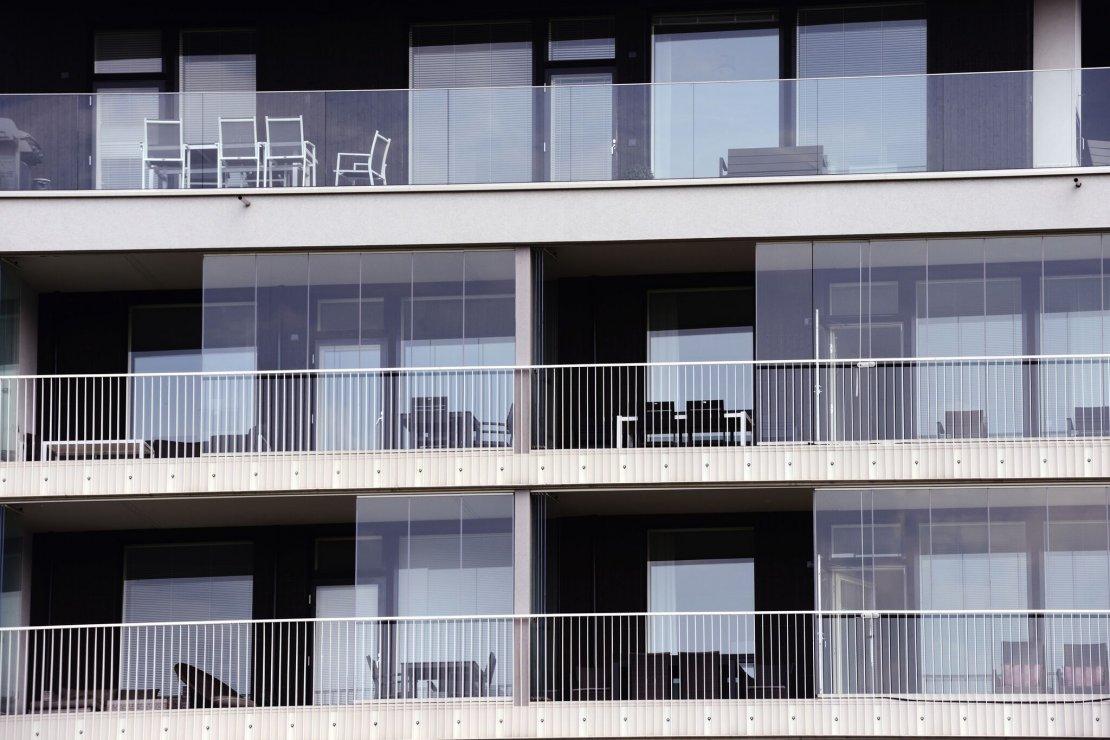 New building near Park Wilmersdorf
