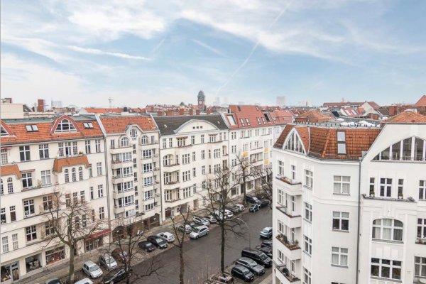 Просторная квартира в центре Берлина
