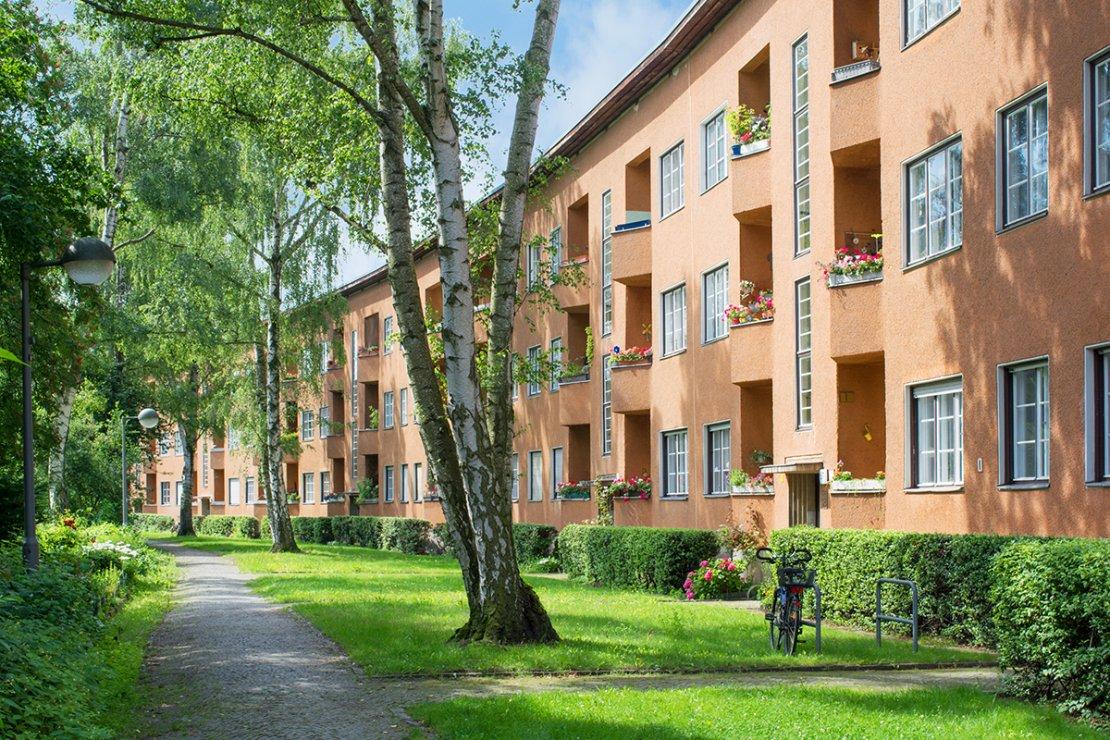 Investment building in Schäfersee