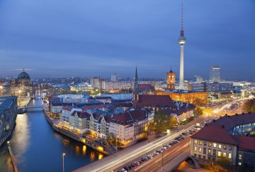 Новостройка в сердце Берлина