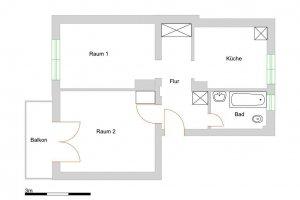Уютная квартира на цокольном этаже