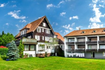 Good Hotel extension project in the black forest