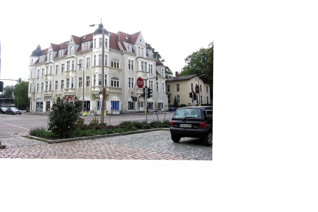 Residential and commercial building Freiberg