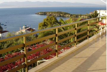 Greek 470 square meters sea view room