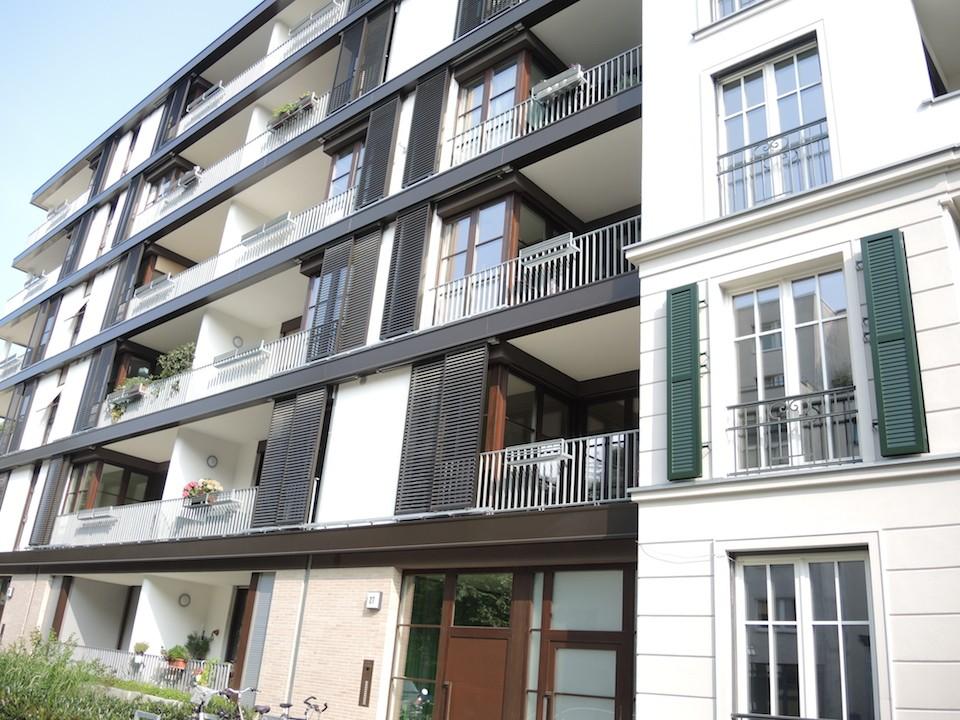 Новый проект в районе Банхофсфиртель Франкфурт