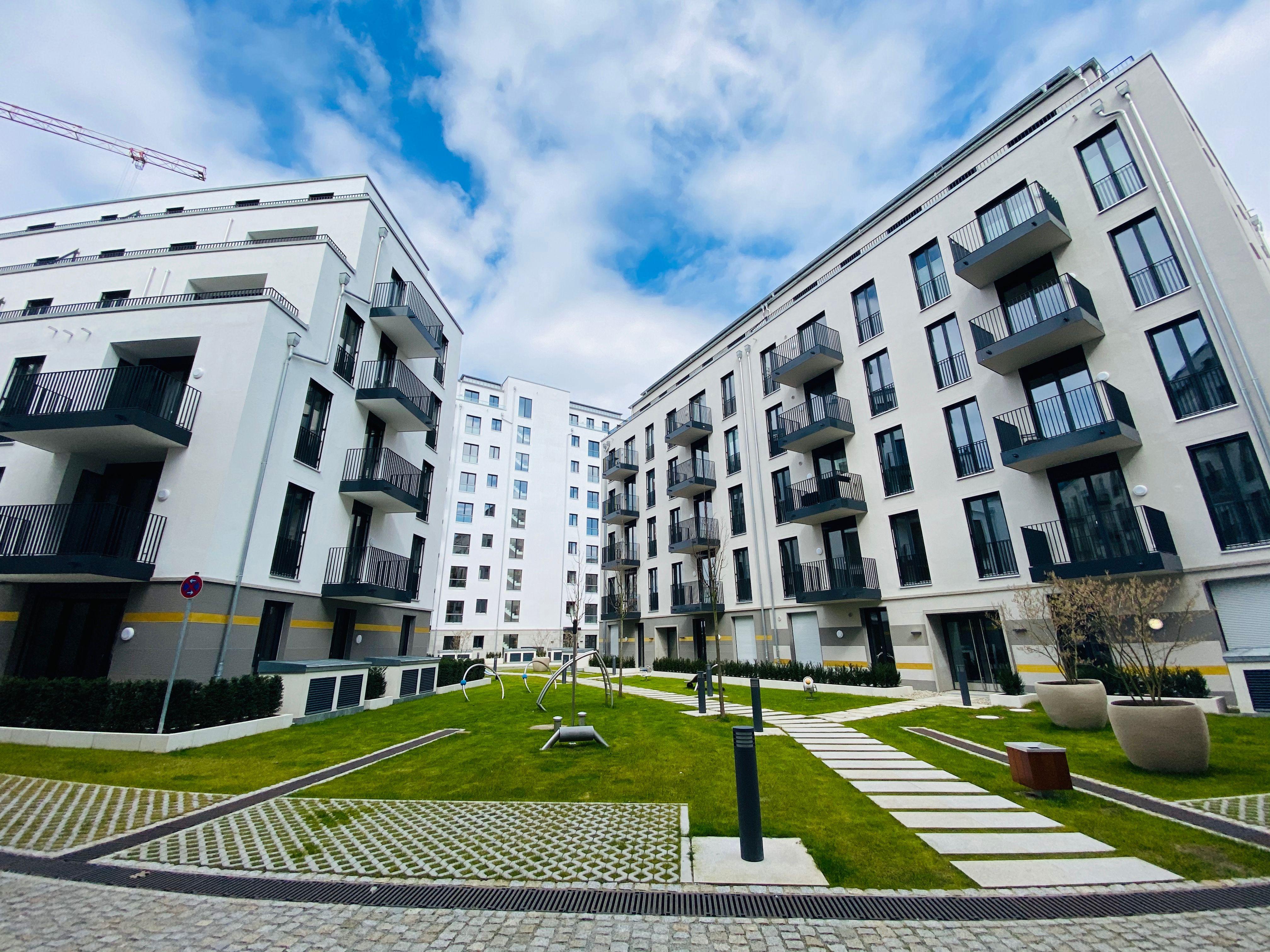 New apartments in Friedenau, Berlin