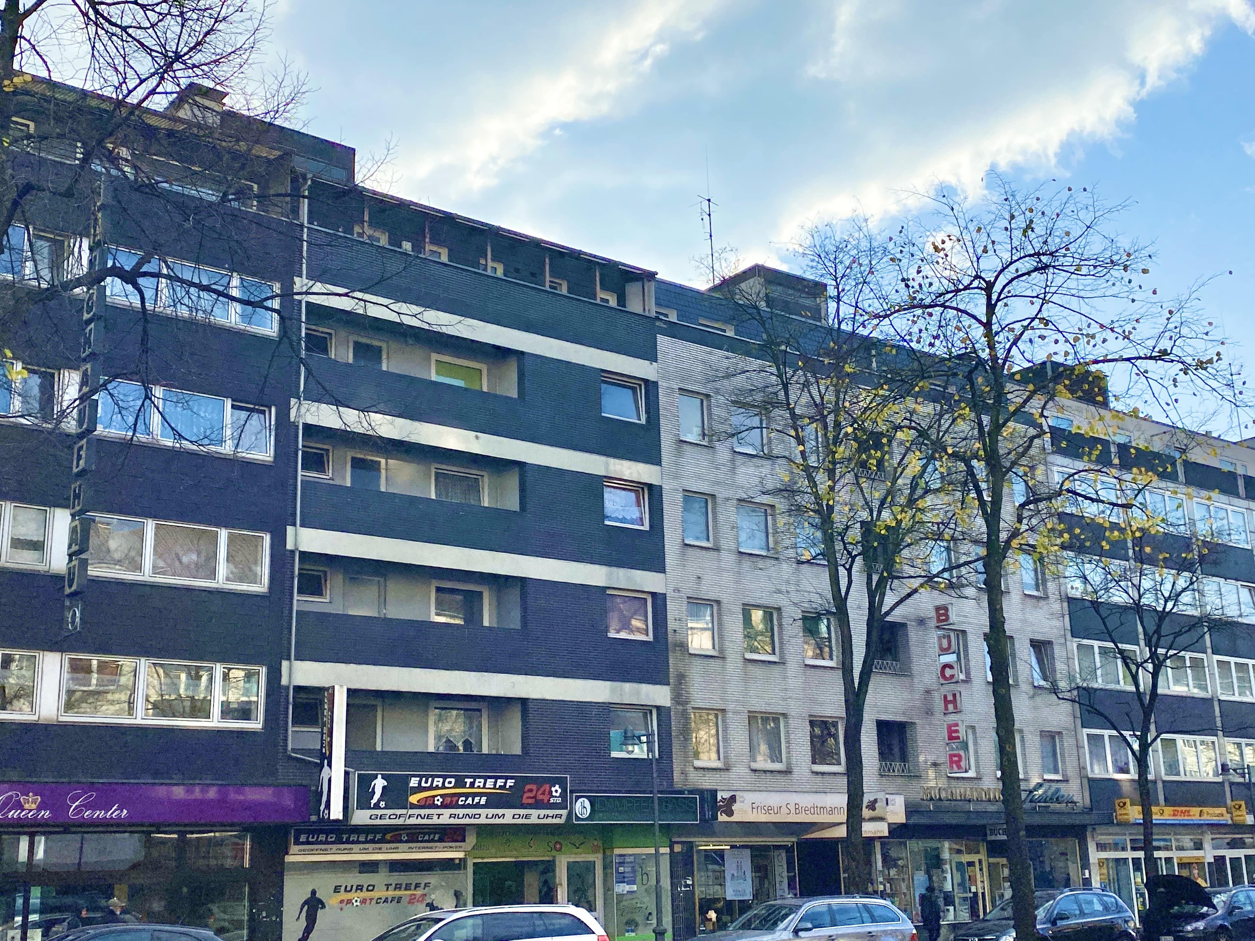 Apartment building with 6,4% yield