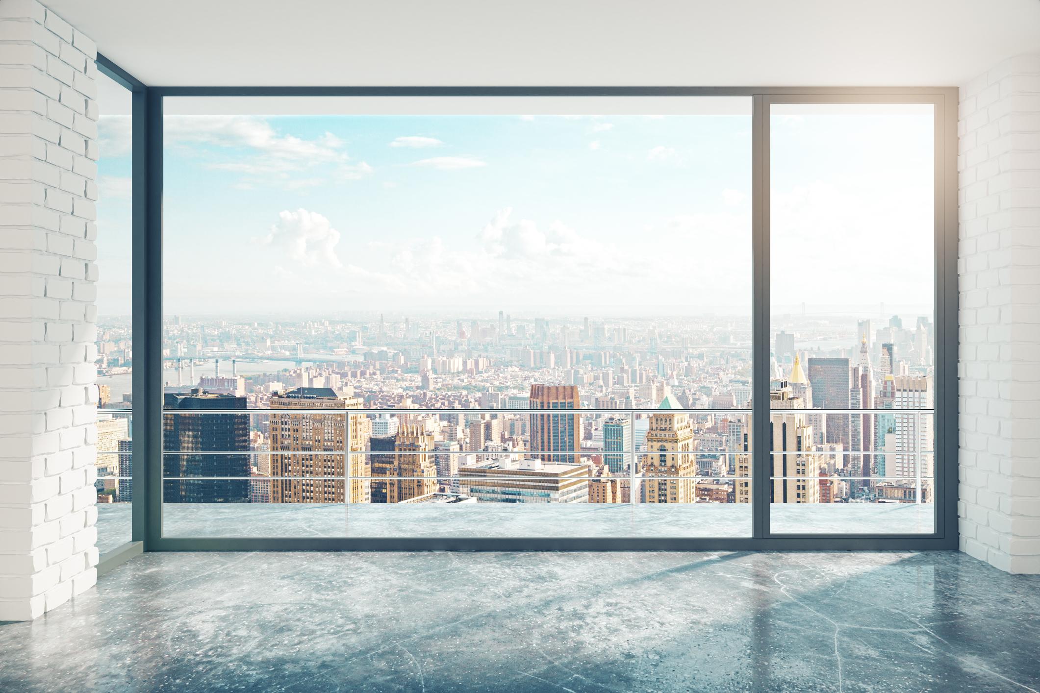Пентхаус с панорамным балконом