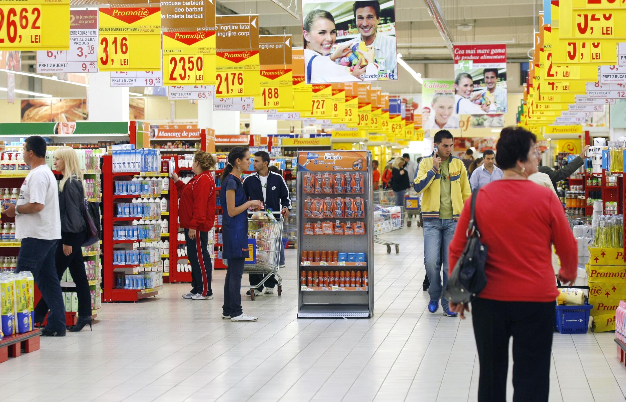 Supermarket in Magdeburg