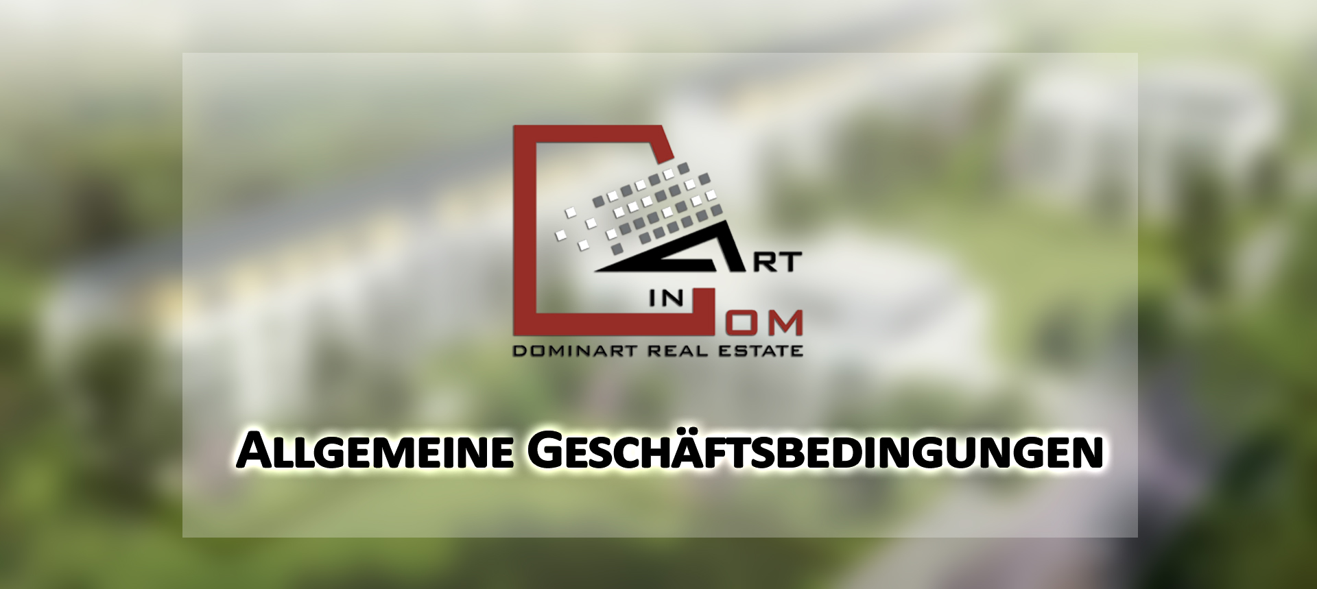 Terms of buying property from Dominart Invest