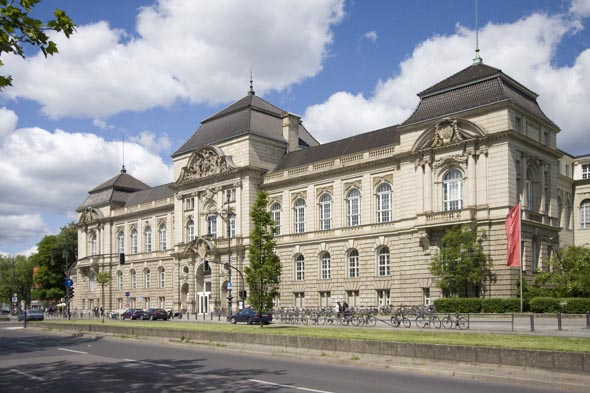 柏林的知名大学